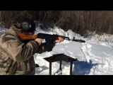 Bro trying out the 300blk AK74 with subs.