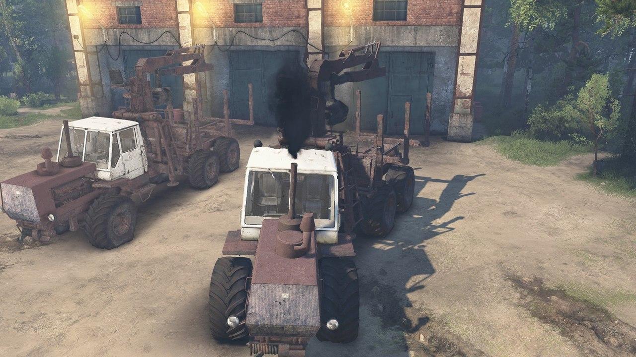 ХТЗ Т-150К для 23.10.15 и 8.11.15 для Spintires - Скриншот 1