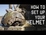 How to Setup Your Helmet for Combat  Special Forces Technique  Tactical Rifleman