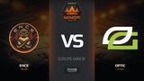 ENCE vs OpTic, map 1 dust2, Europe Minor FACEIT Major 2018