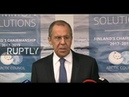 LIVE Lavrov makes press statement following meeting with Pompeo in Rovaniemi