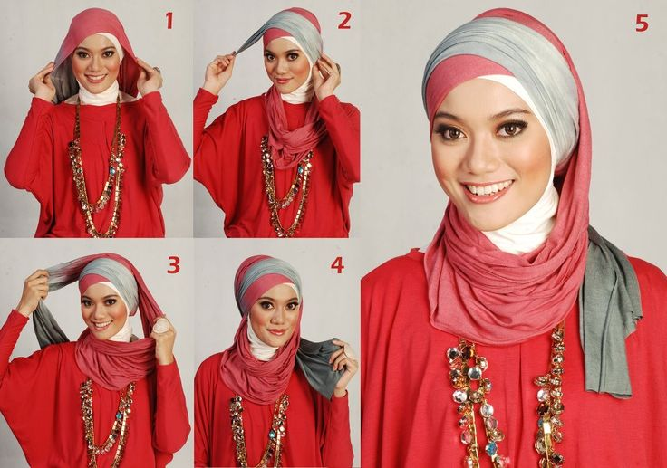 завязывания хиджаба)