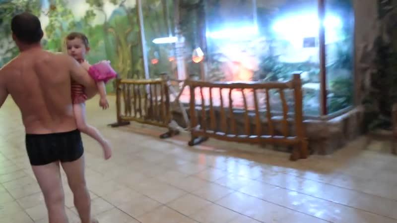 Террариумы и аквариумы в аква парке Дрим Таун. Видео для детей.