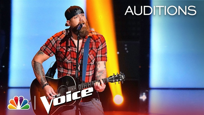 Blake Shelton Is AMAZED by Mikele Buck's Brooks Dunn Cover The Voice 2018 Blind Auditions