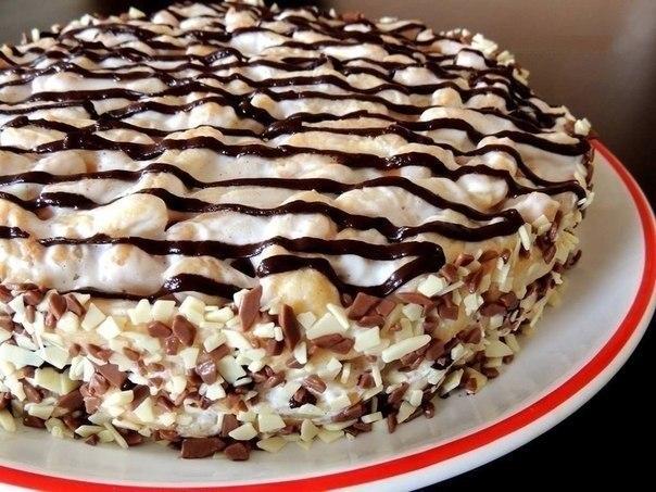 Торт дамские пальчики пошаговый фото рецепт