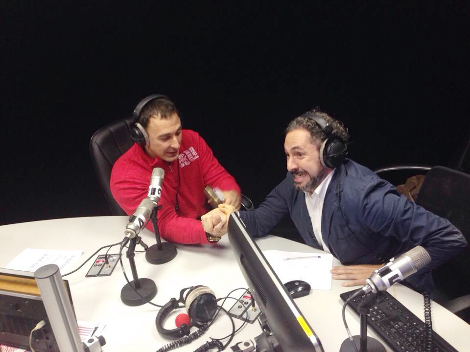 Alexey Voevoda - Armwrestling at Moscow Fm │ Image Source: Moscow FM