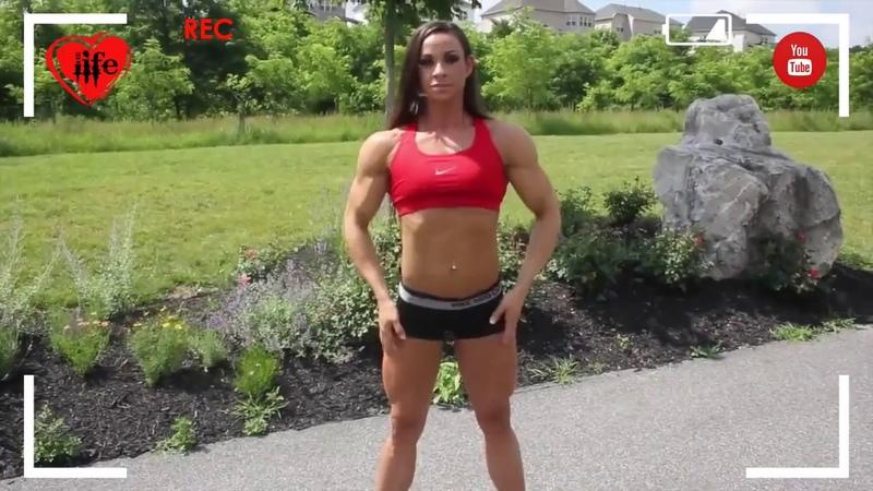 LIFE Stream Super strong muscle woman Танец ช่องสาวสวยชอบเต้น