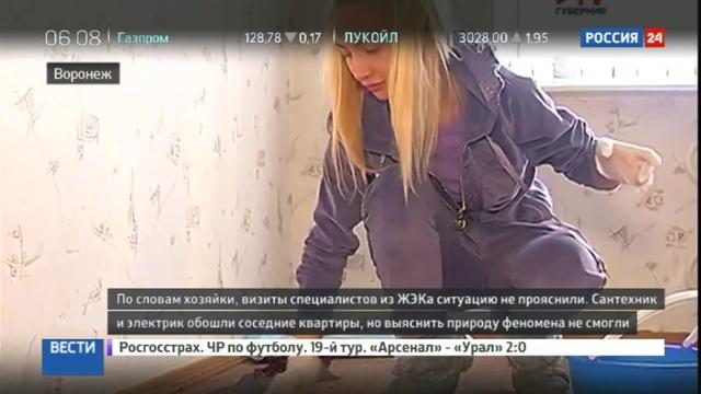Новости на Россия 24 • В доме жительницы Воронежа розетки истекают кровью
