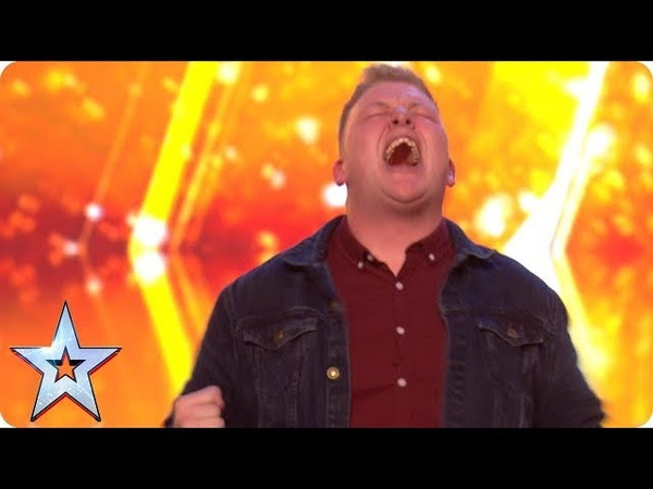 Gruffydd wows with OUT OF THIS WORLD vocals and bags a GOLDEN BUZZER! | Auditions | BGT 2018