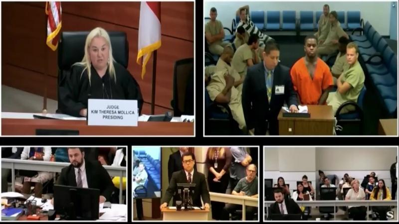 Дедрик Уильямс в суде. Дата первого слушания 25 июня 8:30 (15:30 по МСК). Источник: TMZ.com