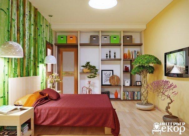 Очень красивая спальня (1 фото) - картинка