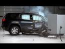 2018 GMC Acadia passenger-side small overlap IIHS crash test