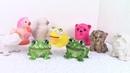 Фигурки из силиконовых игрушек/ casting for silicone toys. ХоббиМаркет