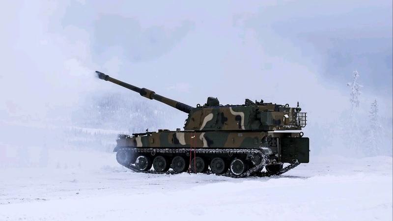 Норвегия закупает южнокорейские 155-мм самоходные гаубицы К9 bmpd
