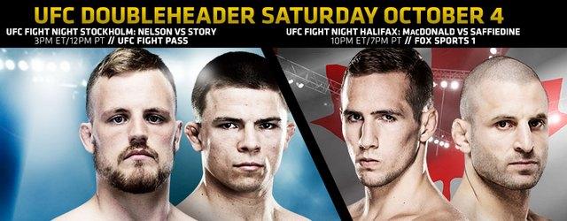Видео всех боев двух турниров UFC 4 октября 2014