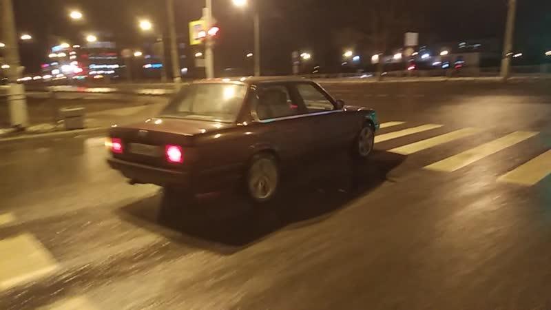 BMW E30 M57D30 power slide drift