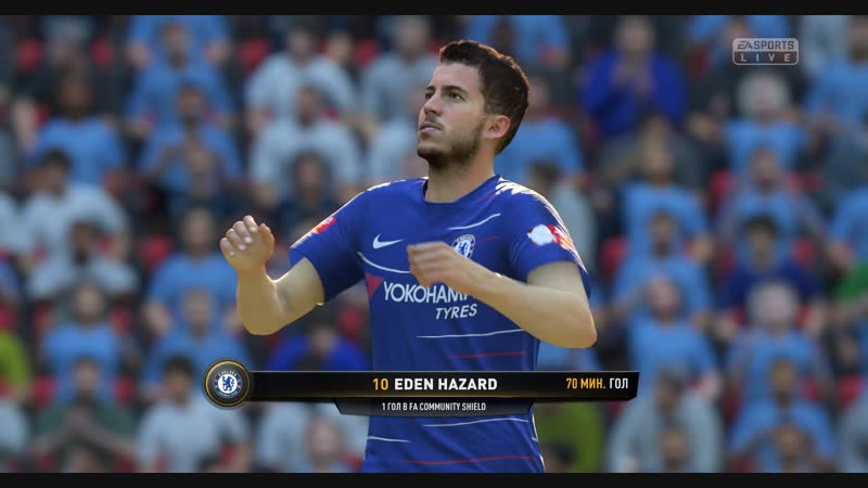 FIFA19 Кар єра Челсі Cуперкубок Англіїї Подвійна помилка сіті