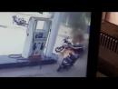 Мужчина поджег мотоциклиста на заправке