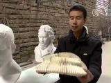 Скульптуры из бумаги (Китай) Как живые.
