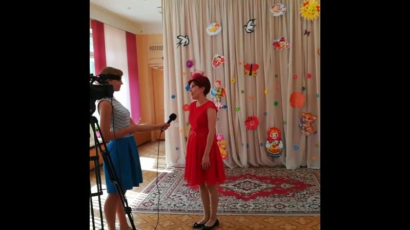 ТВ съёмки перед благотворительным Шоу мыльных пузырей в коррекционной центре Новополоцка.