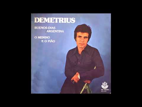 Demetrius 1978 compacto raro