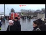 Автобус въехал в пешеходный переход на Славянском бульваре в Москве