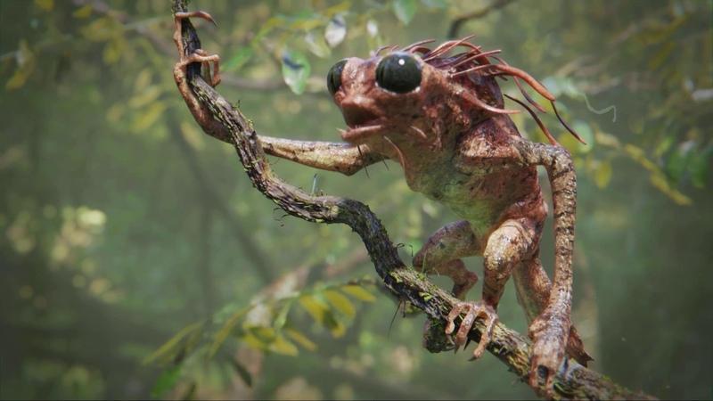Tree Creature - Blender 2.8 development test