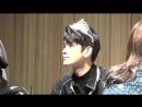 180401 • Wanna One focus Seongwu • JCC Art Hall Fansign