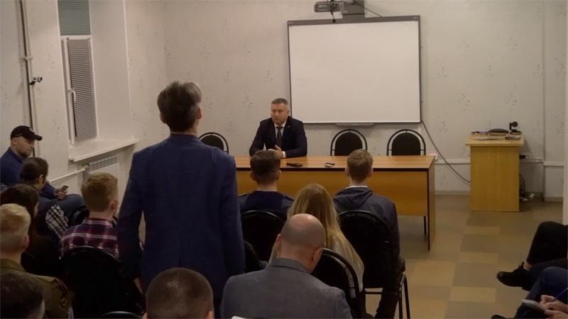 Оппоненты спёрли лозунг 📹 TV29.RU (Северодвинск)