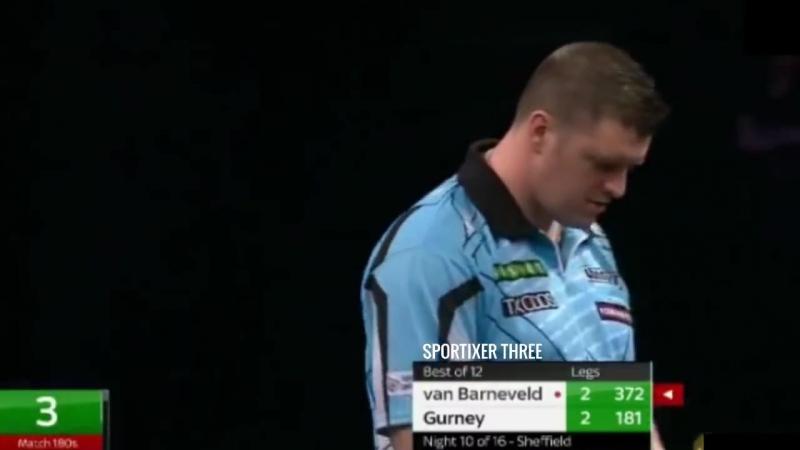 Raymond van Barneveld vs Daryl Gurney Week 10 Premier League Darts 2018