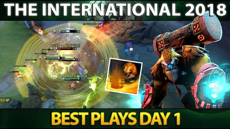 Best Plays Main Event Day 1 The International 2018 Dota 2 TI8