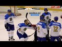 Дамир Рыспаев против латвийских хоккеистов Damir Ryspayev vs Oskars Batna and Ralfs Grinbergs