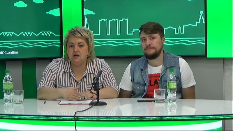 Гости на Радио 2 Оксана Шапкина и Анатолий Мшвениерадзе организаторы Форума Северных территорий