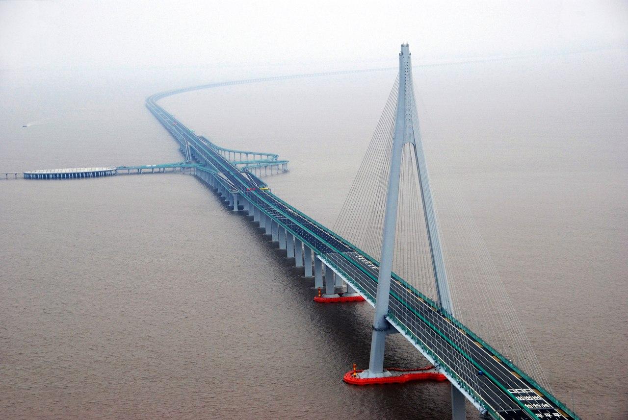 Мост Ханчжоу - произведение искусства и венец инженерии
