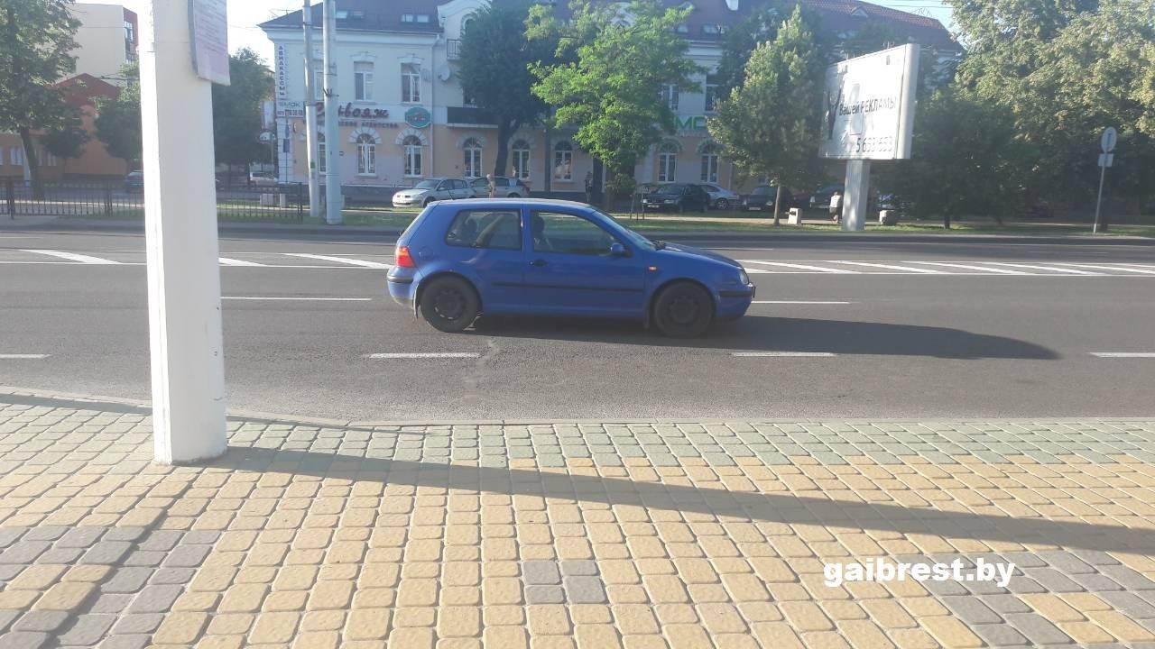 Женщина, которую сбил водитель VW на Машерова, была пьяна
