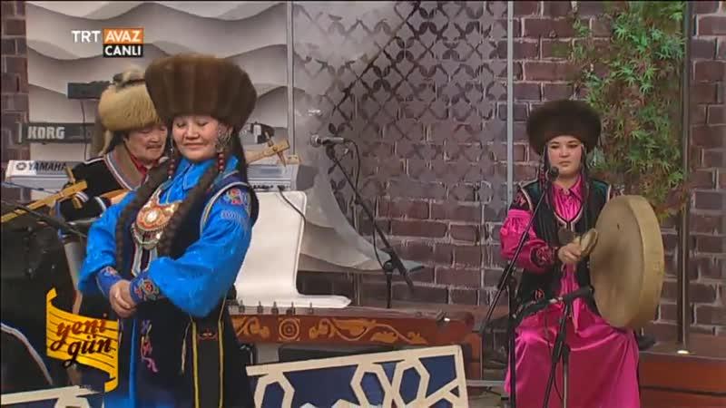 Aylanıs Hakas Müzik Grubu - Dans Performansı - Yeni Gün - TRT Avaz
