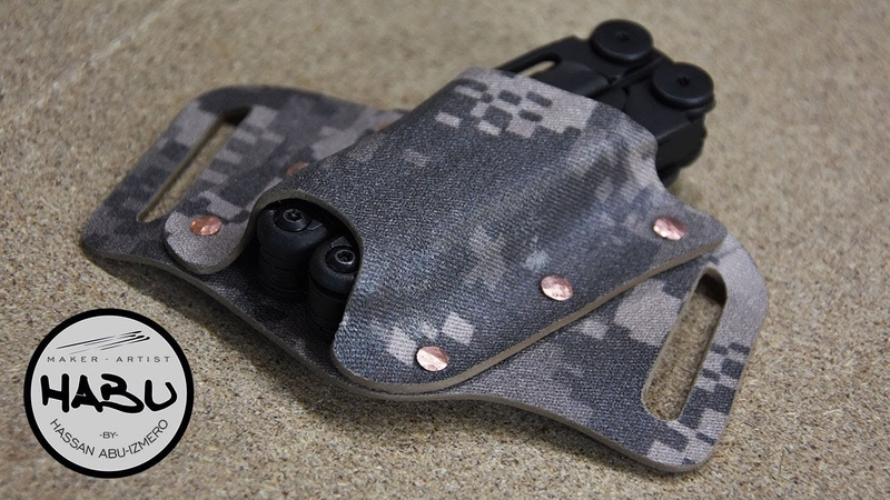 HABU \\ Building A Tactical Leatherman Kydex Sheath