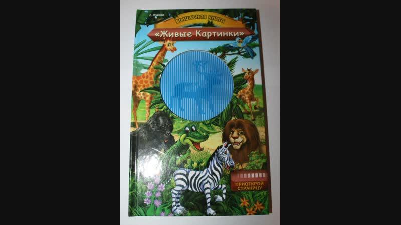 Волшебная книга Живые картинки