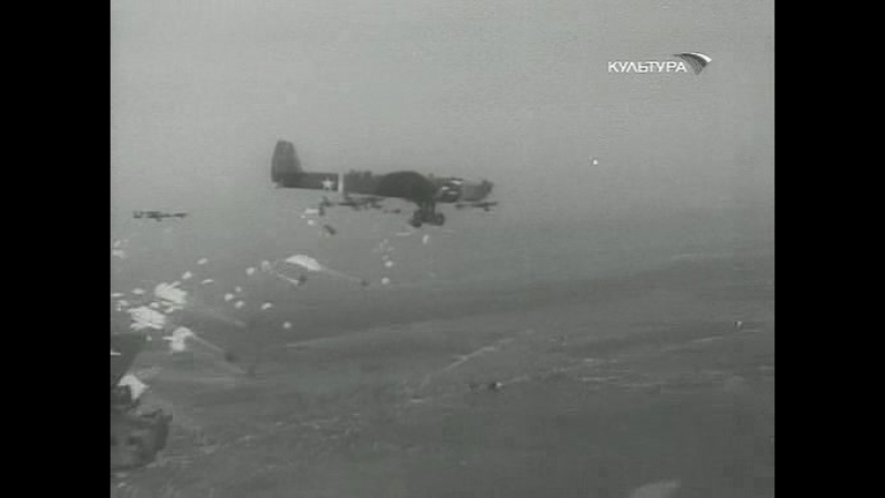 Фрагмент из фильма Аэроград (1935 г.) реж. А. Довженко