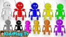 Learn Colors With Color Robot - For Children Toddlers And Kids - Kids Play Tv