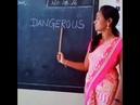 Indian Teacher pronounces Dangerous