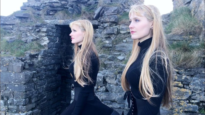 In the Hall of the Mountain King Grieg Harp Twins Camille and Kennerly