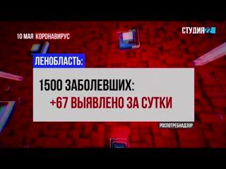 Коронавирус: информация по Бокситогорскому району на 10 мая