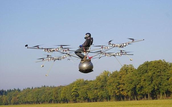 Volocopter - инновациялық, экологиялық қауіпсіз тікұшақ(вертолет).