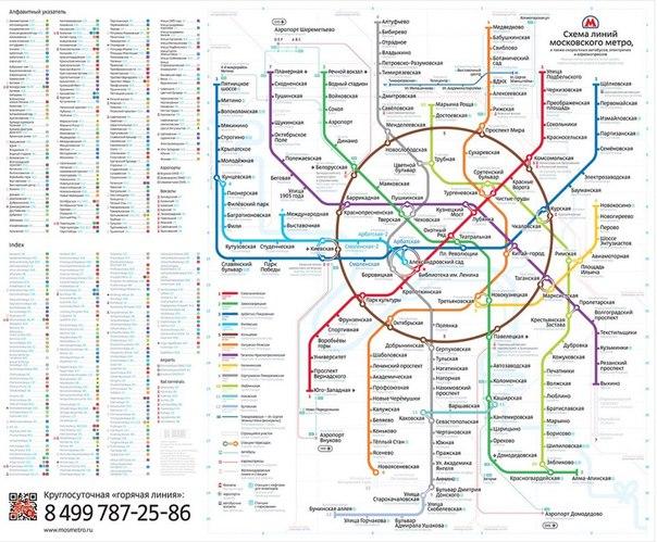 Студия Лебедева победила в конкурсе на лучшую схему метро Москвы (ФОТО) .