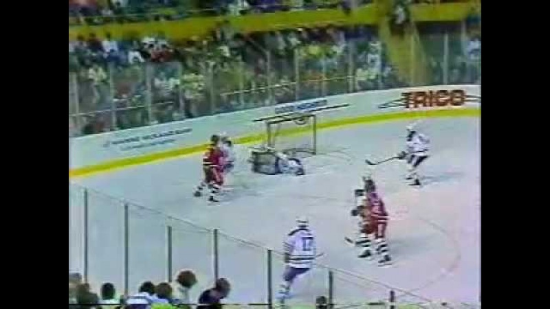 9/1/1989 Super Series - Buffalo Sabres vs. Soviet Red Army (Full w/ Commercials)