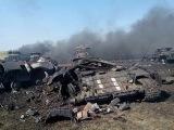 30 убитых солдат  В результате обстрела с установки град #Луганск#Донецк