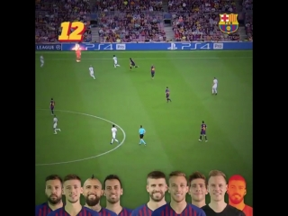 60 seconds - 22 touches - A great goal - Thats Barça DNA!!!.mp4