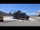NH90 windy condition startup
