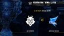 G2 vs AFS — ЧМ-2018, Групповая стадия, День 6, Игра 6